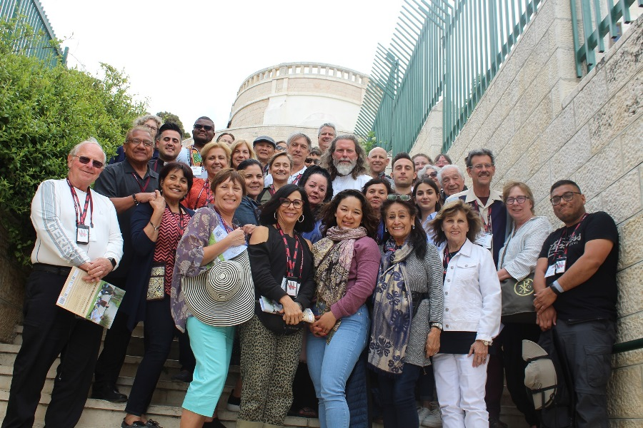 EOHSJ - USA Western Lieutenancy Group on Campus for a Visit