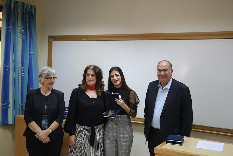 Nursing Students Receive Farida Al-Budeiri Award