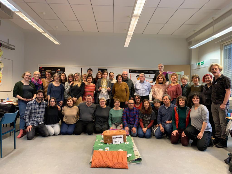 CETL Director Dr. Hala Nassar joined Beyond TEXT team in Finland