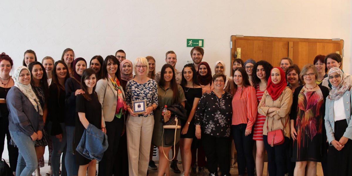 15 Bethlehem University Students Visit Germany