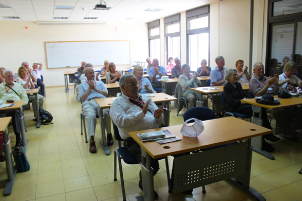 England and Wales Knights visited Bethlehem University and engage with OliveAid Project Beneficiaries