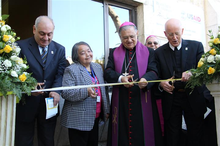 Opening Renovated  Bethlehem University Library