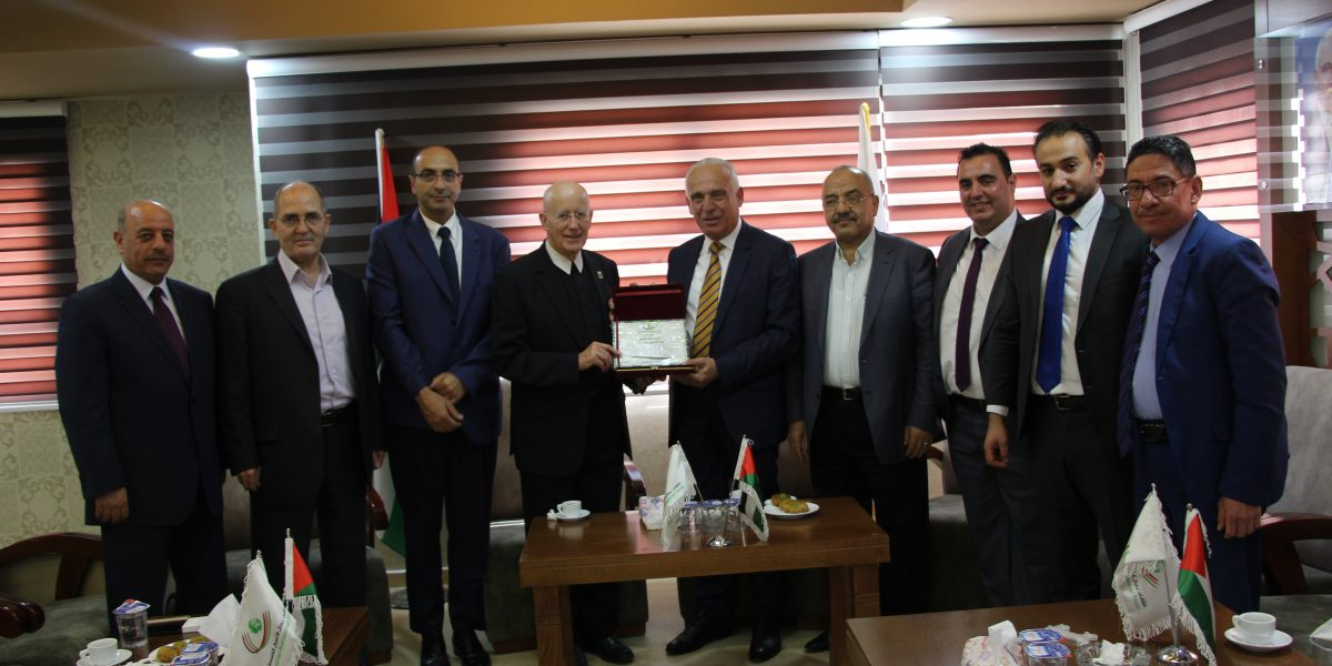 Bethlehem University Delegation Visits Hebron