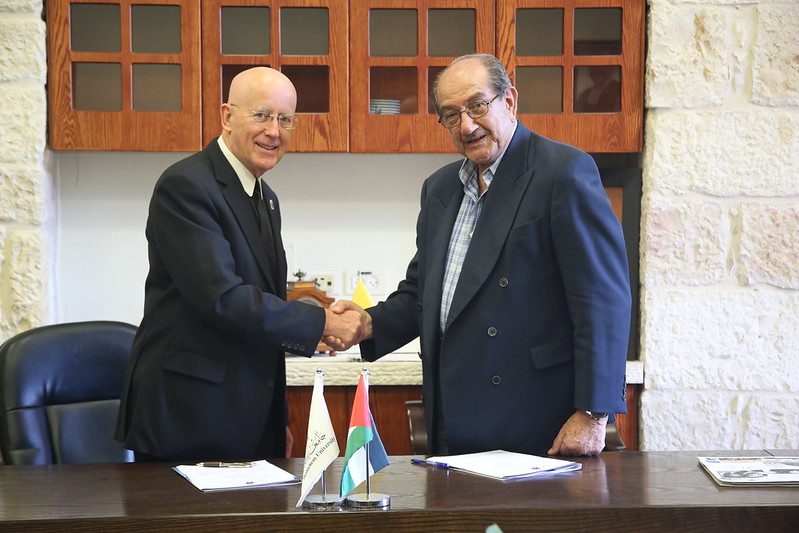 Vice Chancellor Meets Samir Aweidah