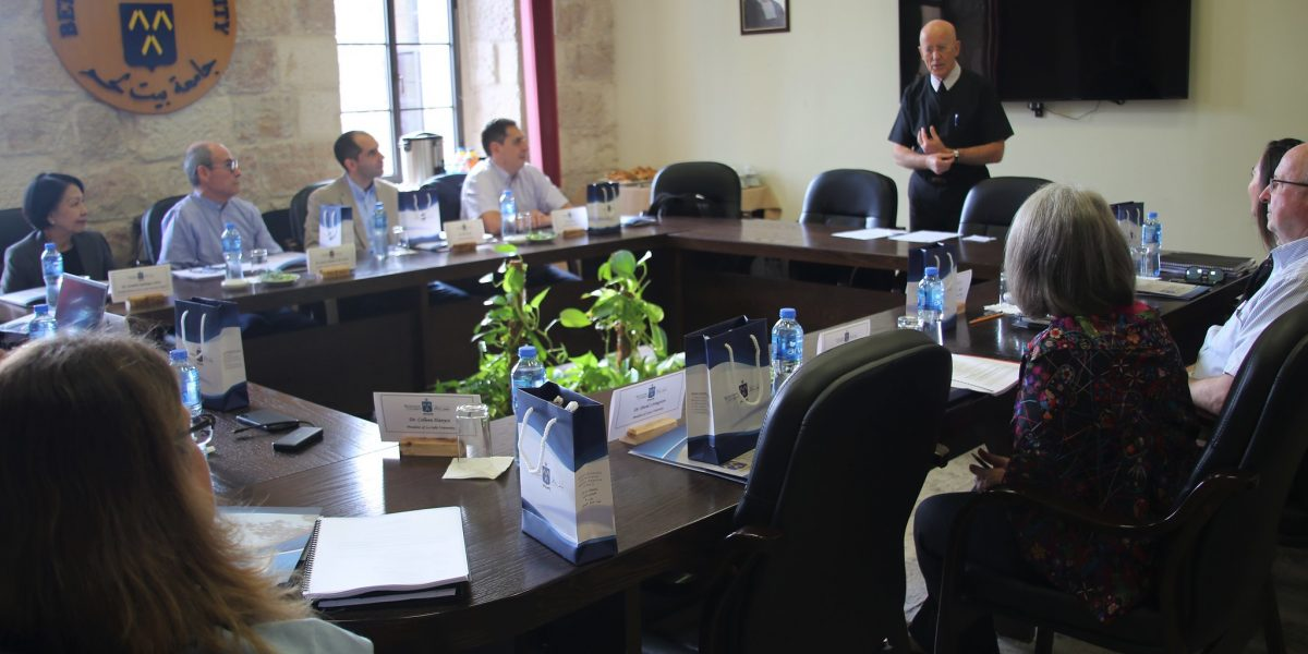 IALU Board Meeting Held at Bethlehem University