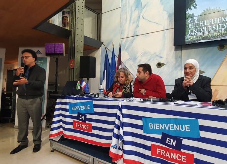 Dean of Research participates in the French Palestinian Day in Paris