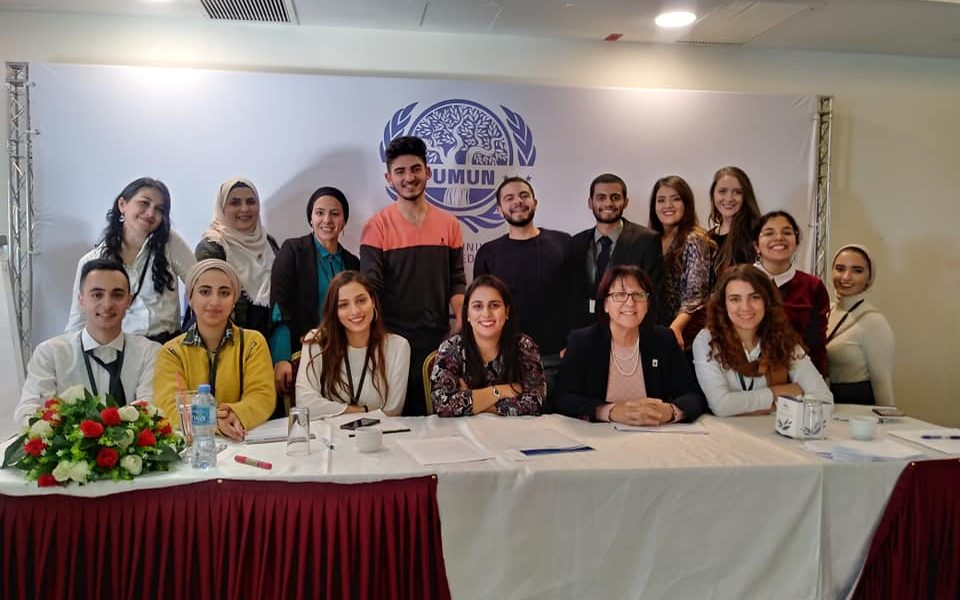 Students Participate in Model United Nations Conference