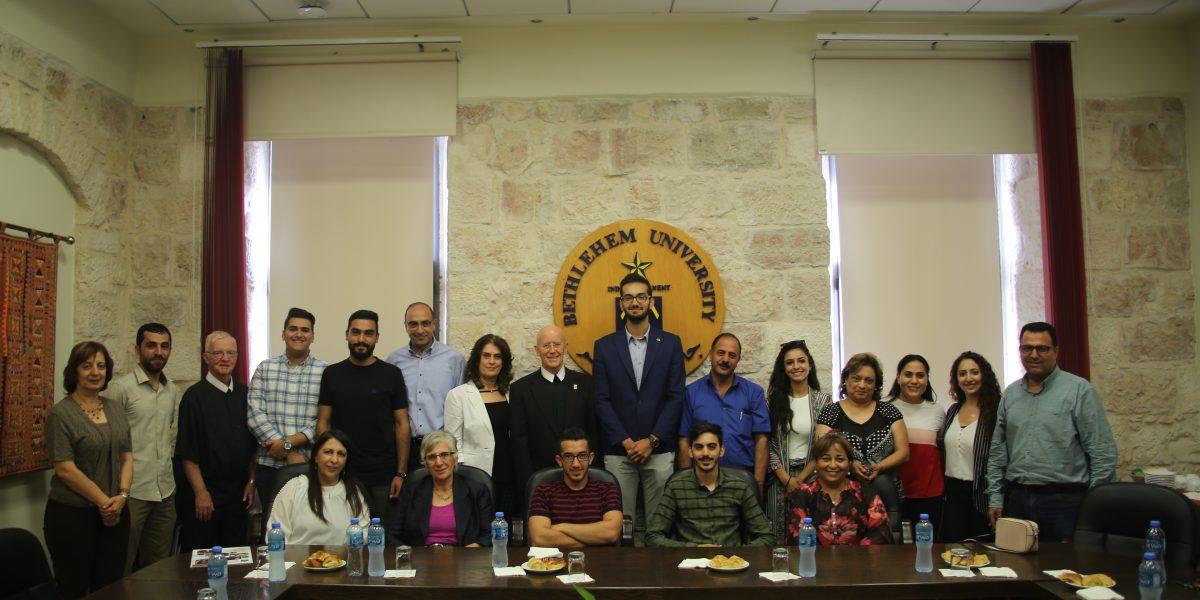Bethlehem University and IFMSA Sign Agreement