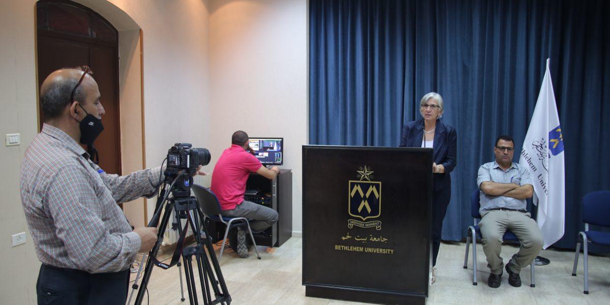 Bethlehem University Holds Virtual Orientation