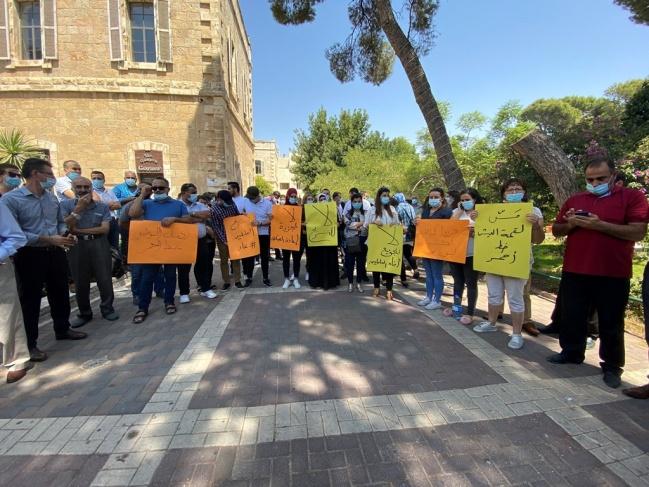 القوى والاتحادات تؤكد دعمها لمطالب العاملين في جامعة بيت لحم