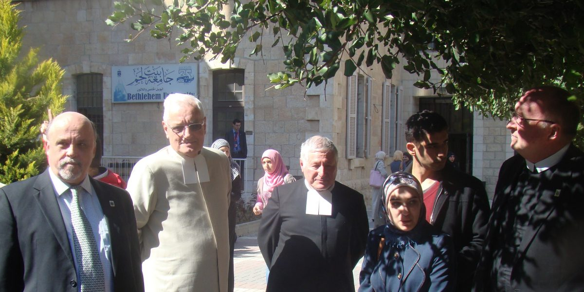 Bethlehem University Mourns the Death of Brother Régis-Claude Robbe, FSC